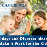 Divorce and Holidays